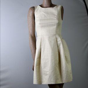 Trina Turk A-line fit & flare brocade dress